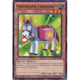 SECE-EN003 Performapal Friendonkey Common Effect Monster