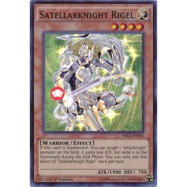 SECE-EN025 Satellarknight Rigel Super Rare Effect Monster