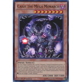 SECE-EN035 Caius the Mega Monarch Ultra Rare Effect Monster