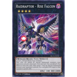 SECE-EN050 Raidraptor - Rise Falcon Common Xyz Monster