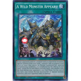 SECE-EN064 A Wild Monster Appears! Secret Rare Normal Spell Card