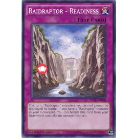 SECE-EN070 Raidraptor - Readiness Common Normal Trap Card