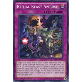 SECE-EN074 Ritual Beast Ambush Common Normal Trap Card