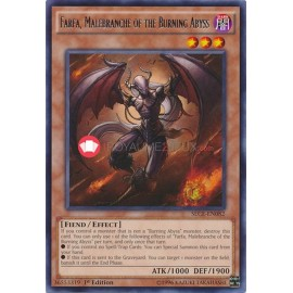 SECE-EN082 Farfa, Malebranche of the Burning Abyss Rare Effect Monster