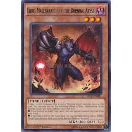 SECE-EN083 Libic, Malebranche of the Burning Abyss Rare Effect Monster