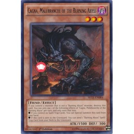 SECE-EN084 Cagna, Malebranche of the Burning Abyss Rare Effect Monster