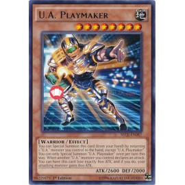 SECE-EN087 U.A. Playmaker Rare Effect Monster
