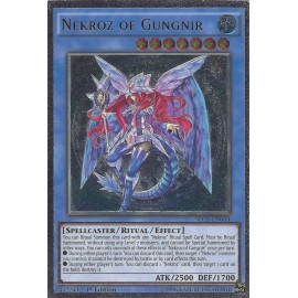 SECE-EN044-UL Nekroz of Gungnir Ultimate Rare Ritual Monster