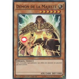 CT12-FR004 Super Rare demon de la majeste