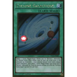 PGL3-FR087 Cyclone Galactique Gold Rare Normal Spell Card