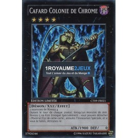 CT09-FR021 Yu-Gi-Oh ! Carte Cafard Colonie de Chrome