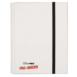 Portfolios Pro-binder - Blanc - 20 Pages De 18 Cases