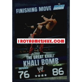 The Great Khali - Khali Bomb