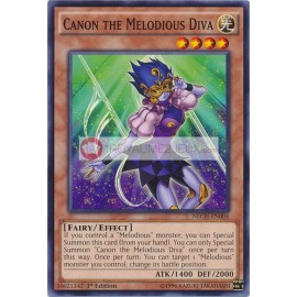 NECH-EN004 Canon the Melodious Diva Common Effect Monster
