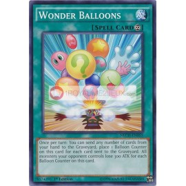 NECH-EN055 Wonder Balloons Common Continuous Spell Card
