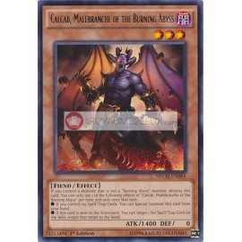 NECH-EN084 Calcab, Malebranche of the Burning Abyss Rare Effect Monster