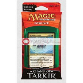 Magic The Gathering - Khans of Tarkir - Pack introduction TEMUR AVALANCHE