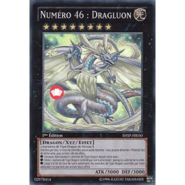 SHSP-FR050 Numéro 46 : Dragluon Ultimate Rare