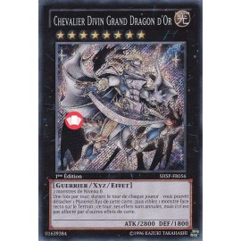 SHSP-FR056 Chevalier Divin Grand Dragon d'Or Secret Rare