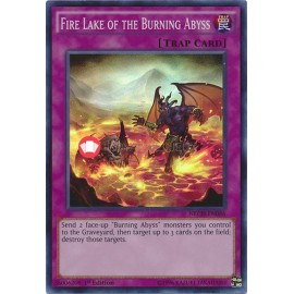 NECH-EN086 Fire Lake of the Burning Abyss Super Rare