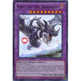 NECH-ENS08 First of the Dragons Super Rare Fusion Monster
