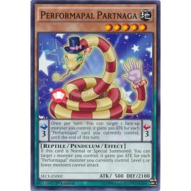 SECE-EN002 Performapal Partnaga Common Pendulum Monster