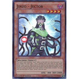 SECE-EN031 Jinzo - Jector Super Rare Effect Monster