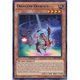 SECE-EN038 Dragon Dowser Rare Effect Monster