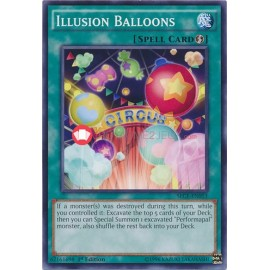 SECE-EN053 Illusion Balloons Common Quick-Play Spell Card