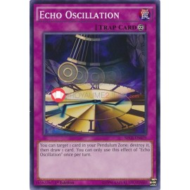 SECE-EN079 Echo Oscillation Common Continuous Trap Card