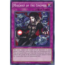 SECE-EN081 Mischief of the Gnomes Common Normal Trap Card
