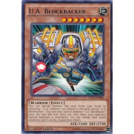 SECE-EN088 U.A. Blockbacker Rare Effect Monster
