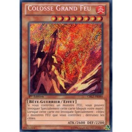 CBLZ-FR084 Colosse Grand Feu [Secret Rare]