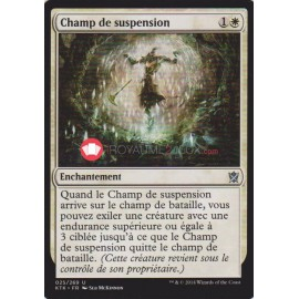 KTK-25 Champ de suspension Enchantement