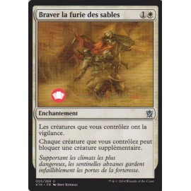 KTK-5 Braver la furie des sables Enchantement