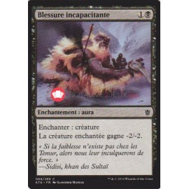 KTK-68 Blessure incapacitante Enchantement
