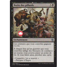 KTK-83 Butin des pillards Enchantement