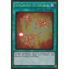 PGL2-FR053 Gold Rare Explosion Infernale Magie