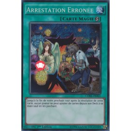 CORE-FR065 Secret Rare Arrestation Erronée Magie