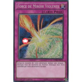 CORE-FR076 Secret Rare Force de Miroir Violente Piège