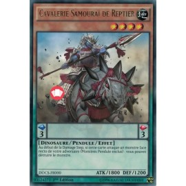DOCS-FR000 Samurai Cavalry of Reptier Rare Effect Pendulum Monster