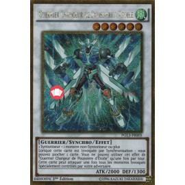 PGL3-FR005 Guerrier Chargeur de Poussière d Étoile Gold Secret Rare Effect Synchro Monster