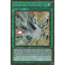 PGL3-FR013 Coup de Tsukumo Gold Secret Rare Quick-Play Spell Card