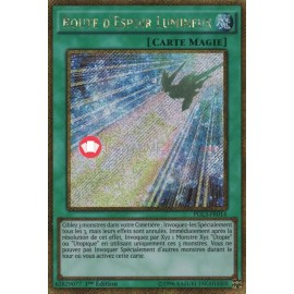 PGL3-FR014 Route d Espoir Lumineux Gold Secret Rare Normal Spell Card
