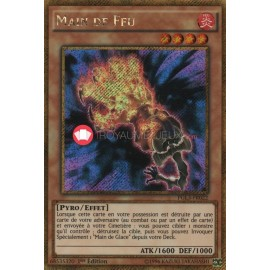PGL3-FR022 Main de Feu Gold Secret Rare Effect Monster