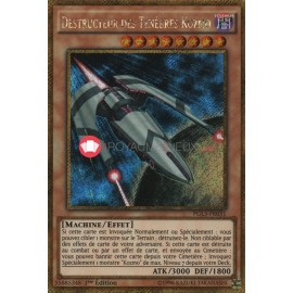 PGL3-FR031 Destructeur des Ténèbres Kozmo Gold Secret Rare Effect Monster