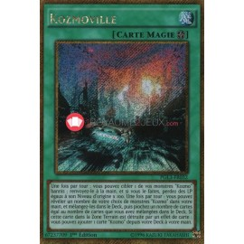 PGL3-FR032 Kozmoville Gold Secret Rare Field Spell Card