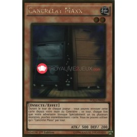 PGL3-FR042 Cancrelat Maxx Gold Rare Effect Monster