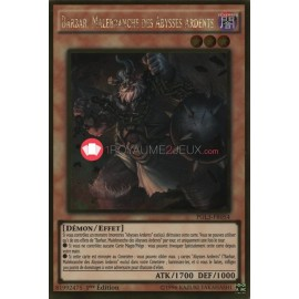 PGL3-FR054 Barbar, Malebranche des Abysses Ardents Gold Rare Effect Monster