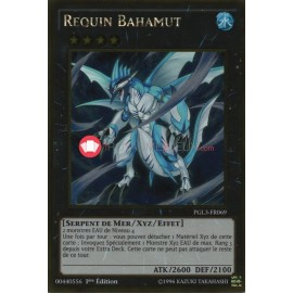 PGL3-FR069 Requin Bahamut Gold Rare Effect Xyz Monster